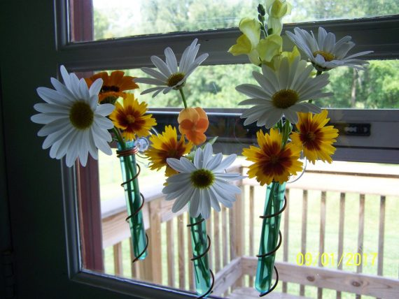 mini window vase