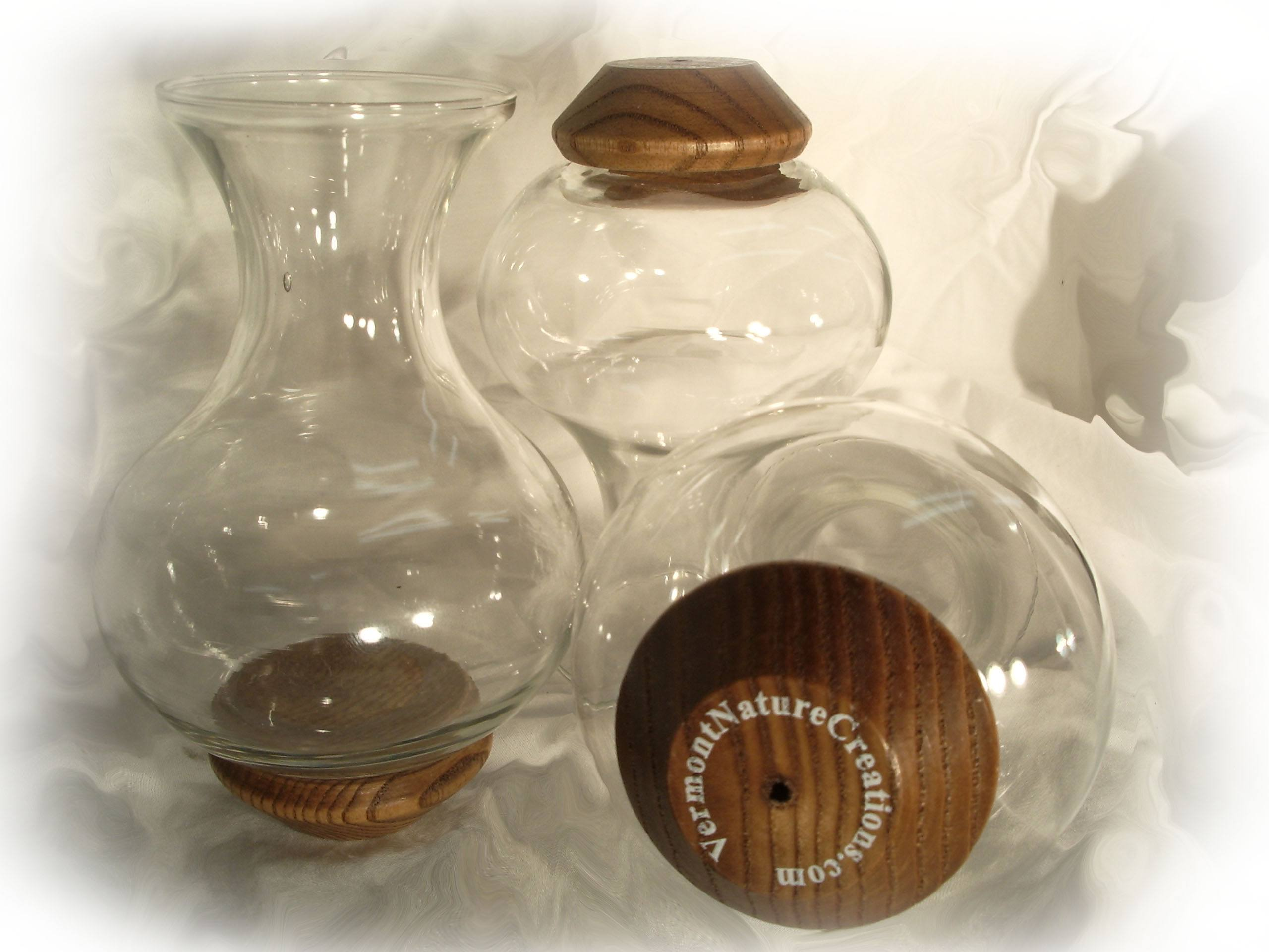 Replacement Glass Vase Vermont Nature Creations