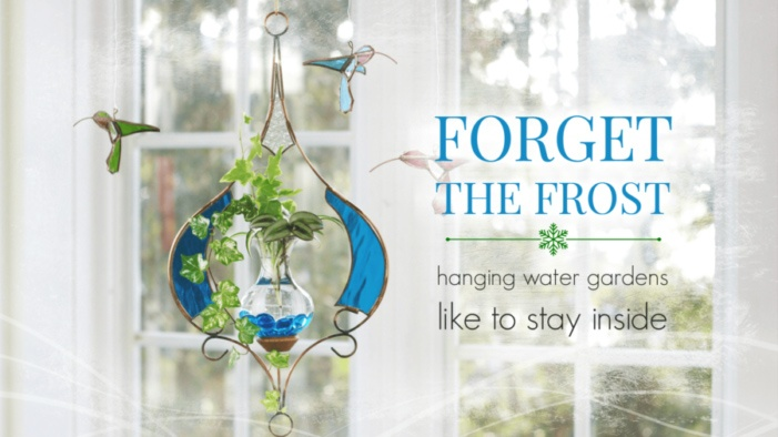 Hanging Water Gardens™ - Forget The Frost