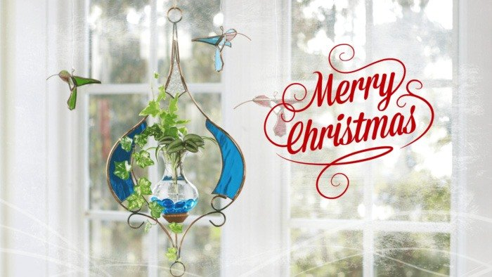Hanging Water Gardens - Merry Christmas